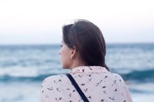 woman- beach