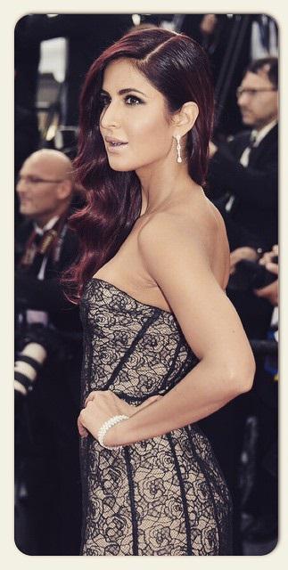 Katrina Kaif in Oscar De La Renta (Cannes 2015)