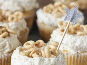 Honey Cheerio Cupcakes