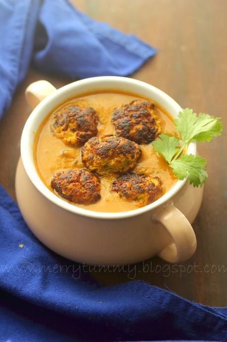 Zucchini Kofta Curry: Taroi (Galka) Ke Kofte Ki Subji
