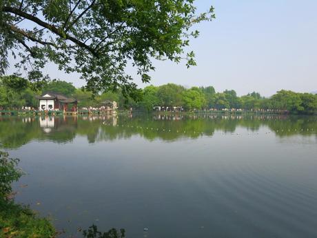 Visiting China   Hangzhou Lake