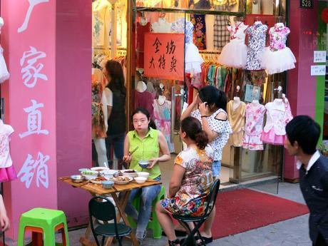 Hangzhou shops  mint mocha musings