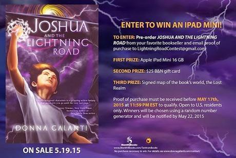 Joshua and the Lightning Road by Donna Galanti: Interview