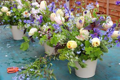 Event flowers in Birmingham.  Locally grown, lovely and natural.  Tuckshop Flowers B30.