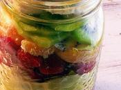 Fruity Breakfast To-Go Jars!