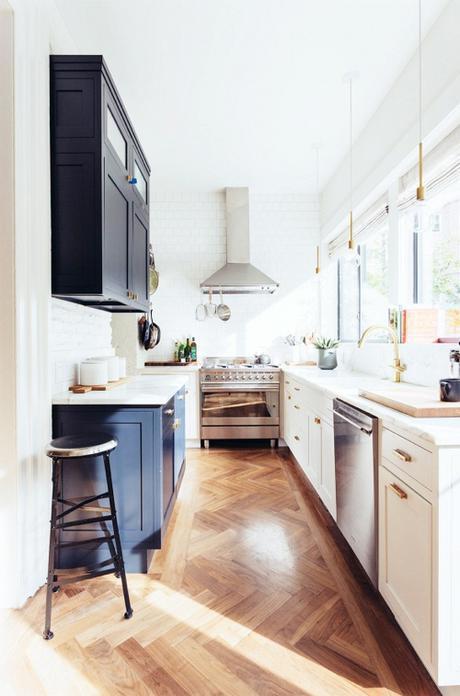 brass-and-navy-kitchen-one-fine-stay