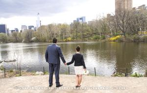 Central Park Elopement Wedding