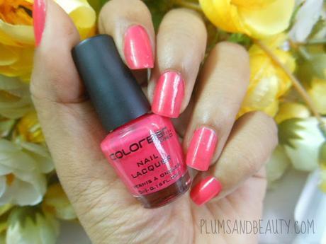 Colorbar Pro Mini Nail Lacquer : Bubbly