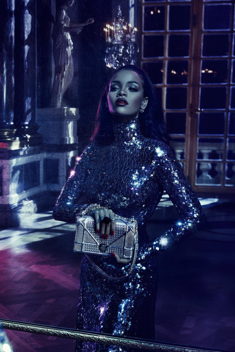 "Sneak Peak At Rihanna's Dior ""Secret Garden"""