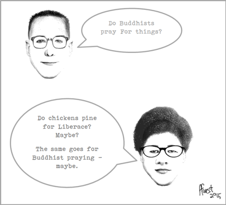 Do Buddhists Pray