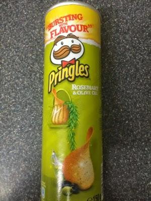 Today's Review: Rosemary & Olive Oil Pringles