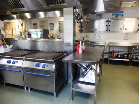 Peterborough college training kitchen cookery course
