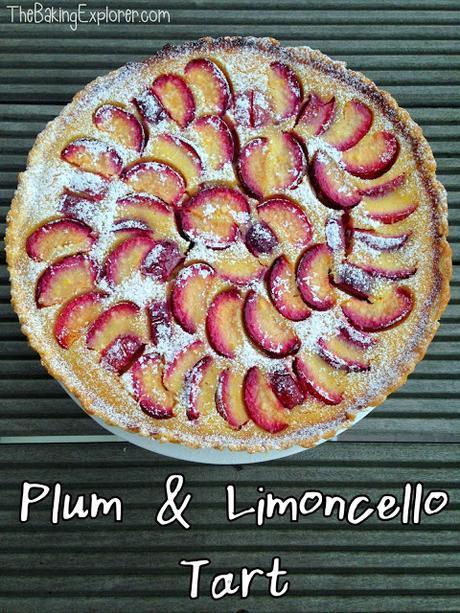 Plum & Limoncello Tart