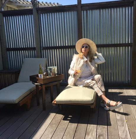 The Carneros  Inn Napa Valley ... and What I  Wore