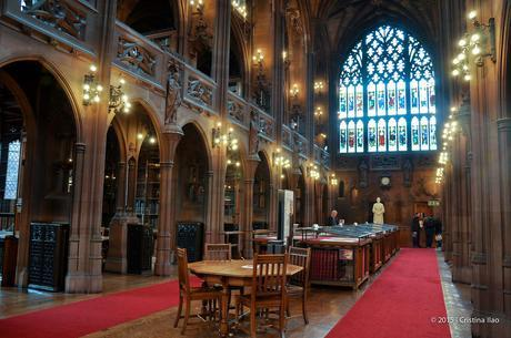 A Tour of the John Rylands Library in Manchester