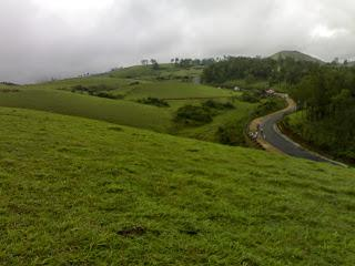 Vagamon is the right place for adventure activity
