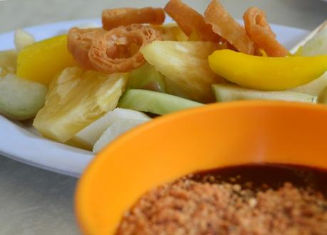 Fruit Rojak in Chilli, Top 50 Foods of Asia, Asian Food Guide