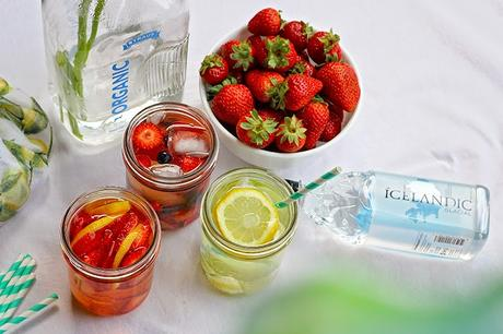 3 Fruit Water Recipes with Icelandic Glacial Water