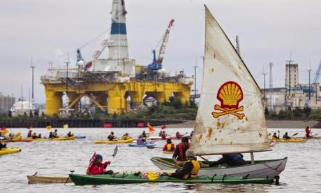 Shell in news ~ for a video - storyboard arctic oil !!!