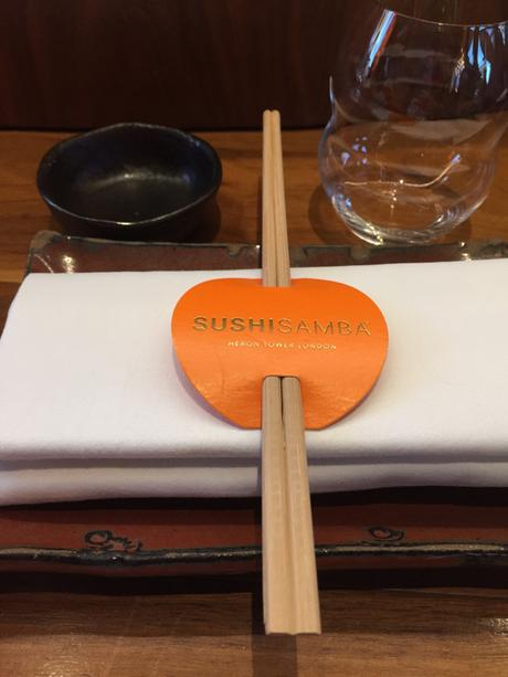 Take the lift to level 38 for the best Japanese  food you will ever eat! Sushiamba close to London's Liverpool Station is amazing!
