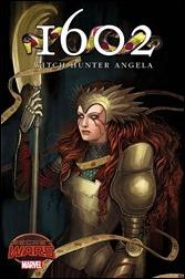 1602 Witch Hunter Angela #1 Cover