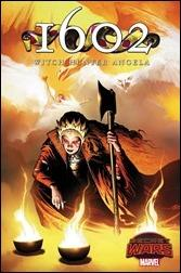 1602 Witch Hunter Angela #1 Cover - Isanove Variant