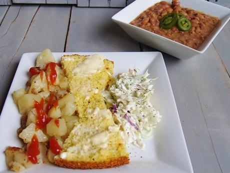Beans, Potatoes, Slaw and Cornbread – Kellis Kitchen