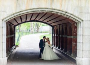 Cop Cot Hollie Craig Central Park Wedding archway b