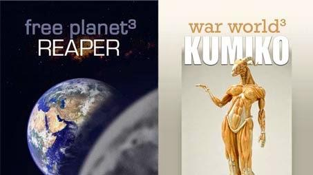 Free Planet vs War World novels - dual trilogies finished - who will win?