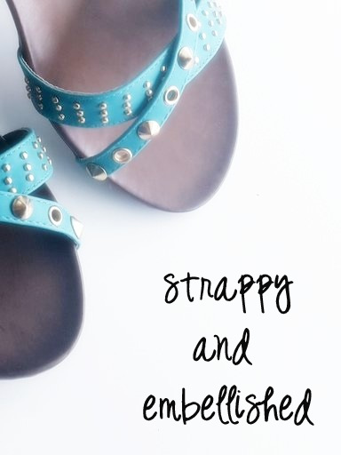 Studded and Strappy Sandals | Valiosaa at Jabong