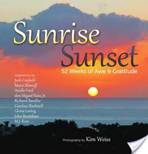 """Sunrise, Sunset: 52 Weeks of Awe & Gratitude"" Is a Perfect Gift Idea!"