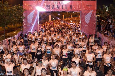 A Night Filled With Nike 10K Women Runners
