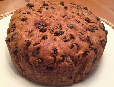 Fruit Cake made with Olive Oil