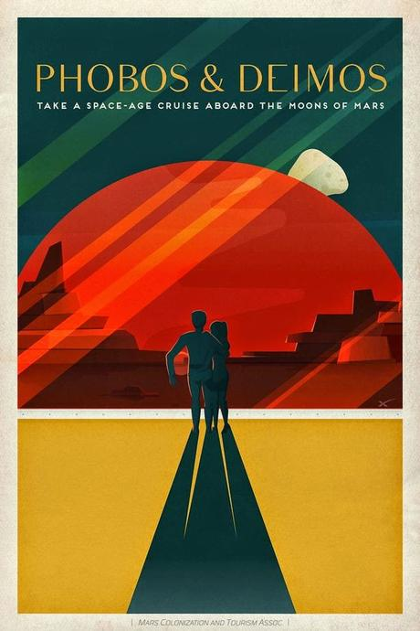 SpaceX releases gorgeous vintage-style travel posters