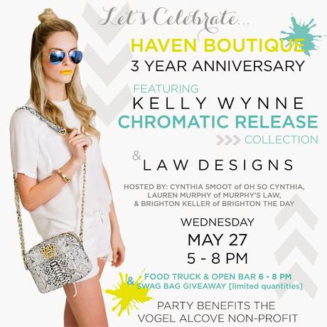 Join Me Wednesday, May 27 at Haven To Shop For A Cause