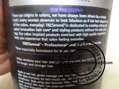 TRESemme Hair Fall Control Shampoo Review