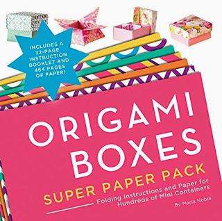 Origami  Boxes Super Paper Pack - a new book out in Jan 2016