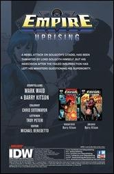 Empire: Uprising #2 Preview 1
