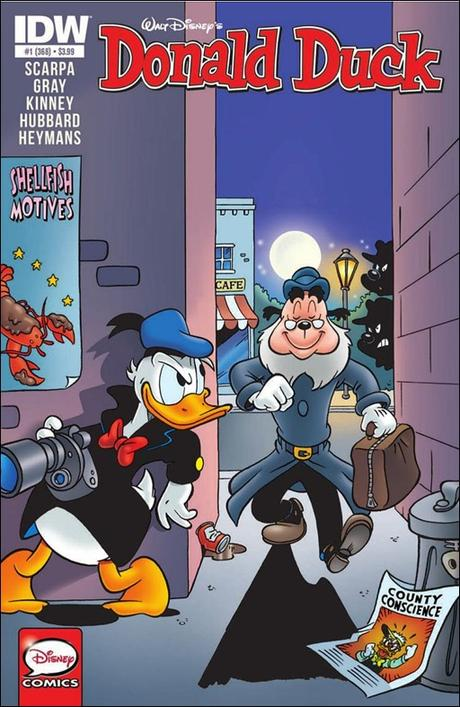 Donald Duck #1 Cover