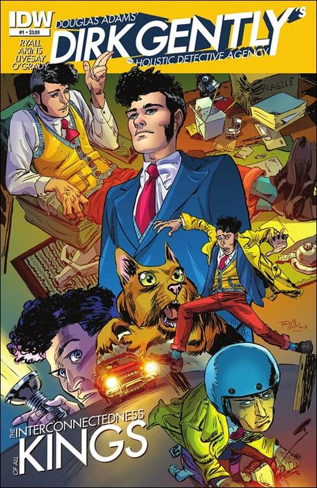 Dirk Gently's Holistic Detective Agency #1 Cover