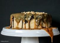 The Ultimate Snickers Cake
