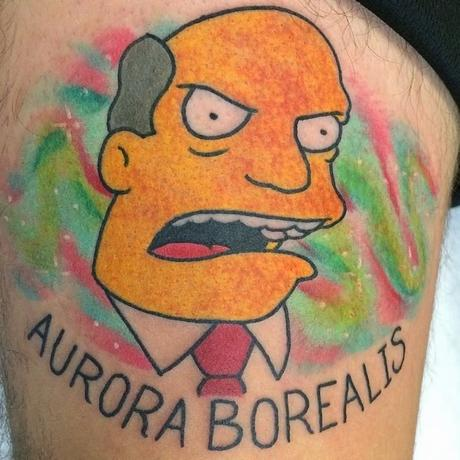 18 amazing Simpsons tattoos (all by the same artist)