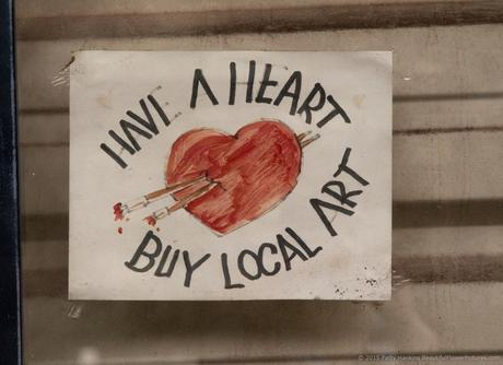 Have a Heart, Buy Local Art © 2015 Patty Hankins