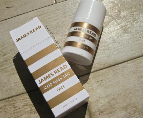 James Read • Sleep Mask Tan for Face