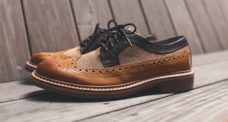 All In The Family:  Clarks Darby Limit Brogue