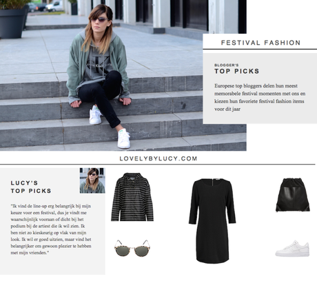 Zalando blogger festival picks