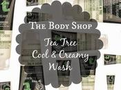 Body Shop Tree Cool Creamy Wash