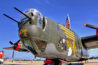 2015 Collings Foundation, Moffett Field,  B-24 Liberator,