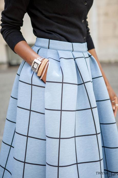 BEAUTIFUL BLUE SCUBA SKIRT
