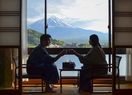 Mount Fuji Ryokan, Best Hotel Room Views in Asia, Japan